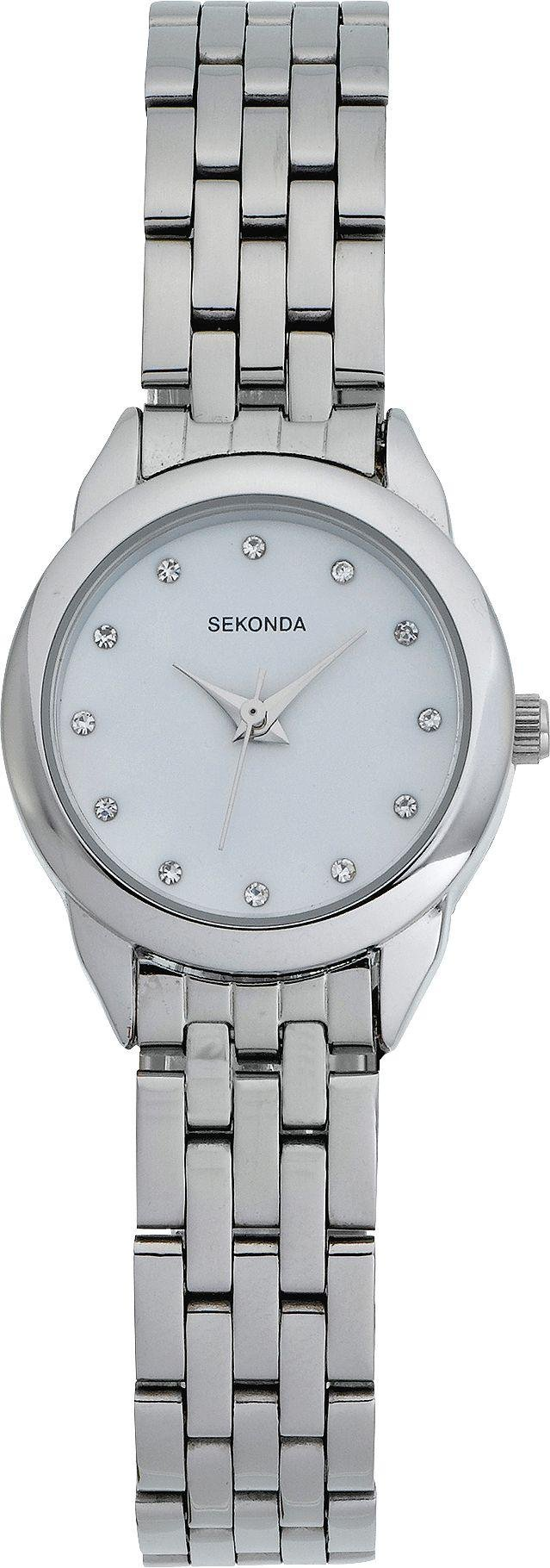 Buy Sekonda La s Stone Set Bracelet Watch at Argos Your