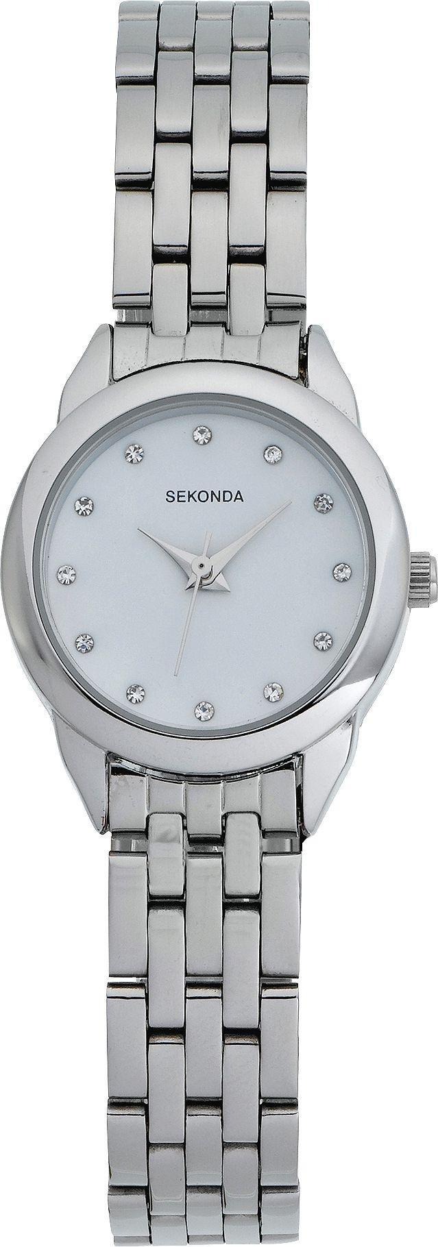 Buy Sekonda La s Stone Set Bracelet Watch at Argos Your