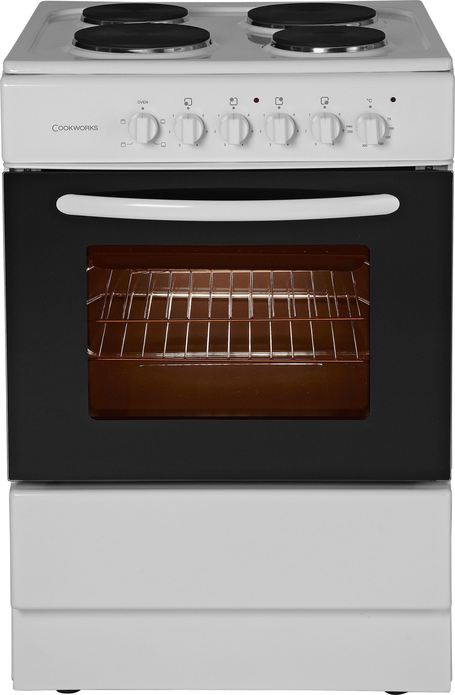 cookworks ces60w single electric cooker review. Black Bedroom Furniture Sets. Home Design Ideas