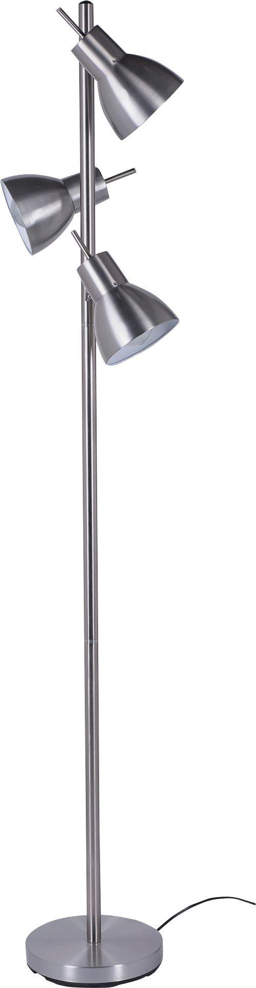Argos Home Fraser Trio Spotlight Floor Lamp - Silver