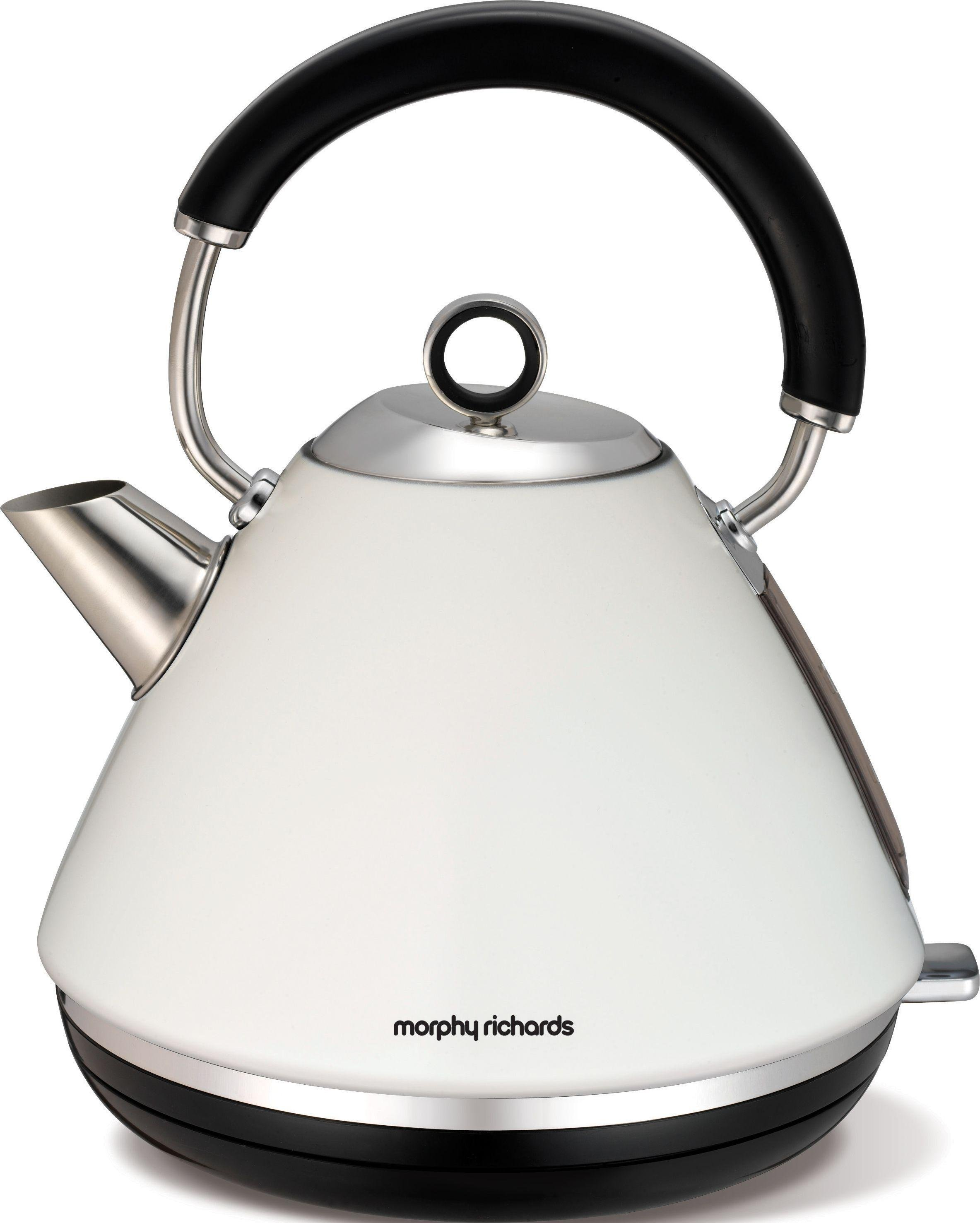 compare morphy richards 43775 accents cream pyramid kettle. Black Bedroom Furniture Sets. Home Design Ideas
