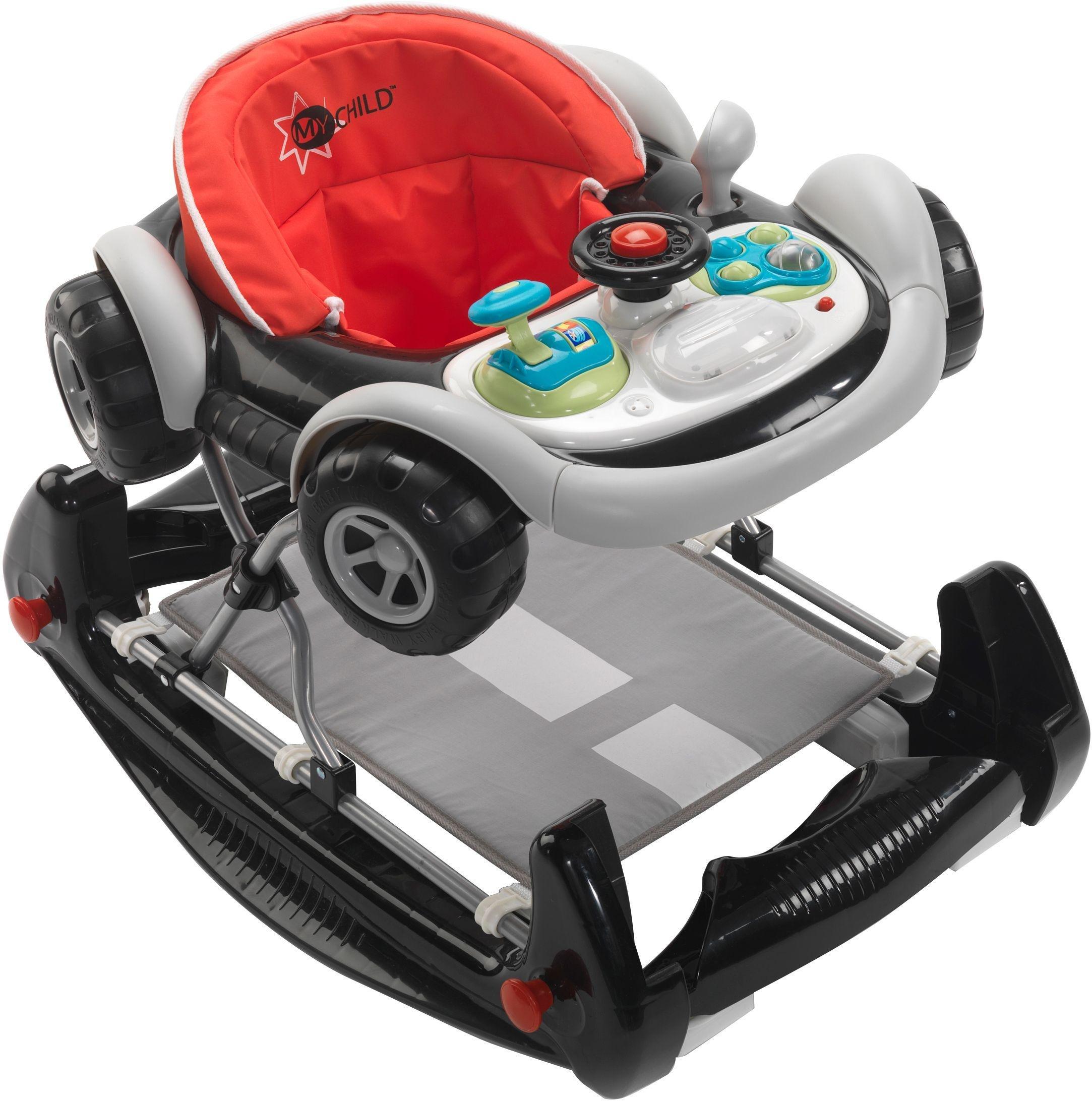 MyChild Coupe 2 In 1 Baby Walker - Black