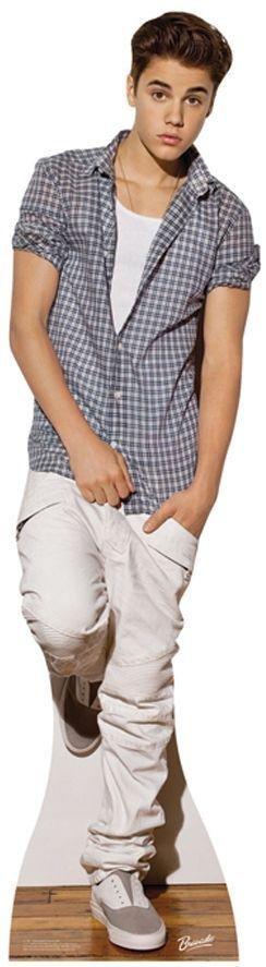 Image of Bravado Justin Bieber Life-Sized Cutout