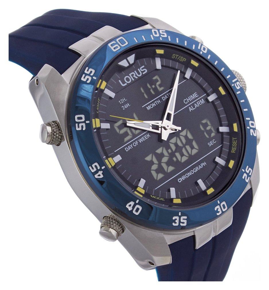 buy lorus s blue sports at argos co uk