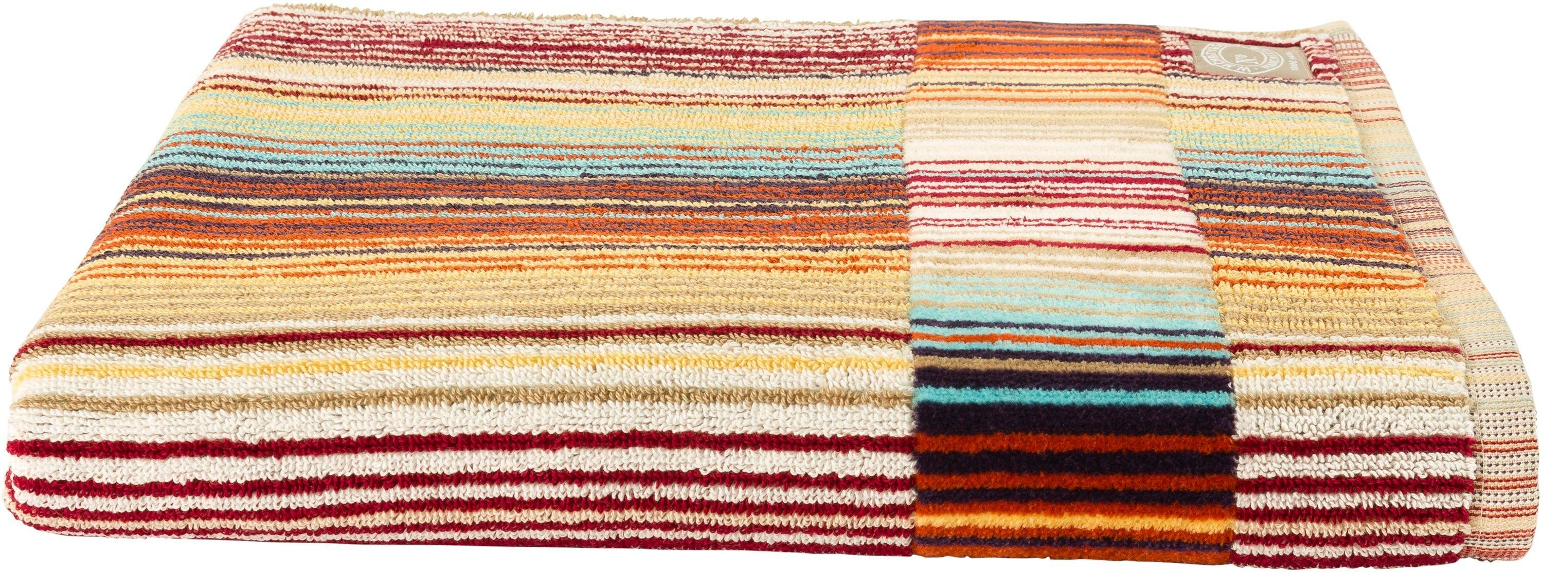 Image of Christy - Supreme Capsule Stripe Bath - Towel - Spice