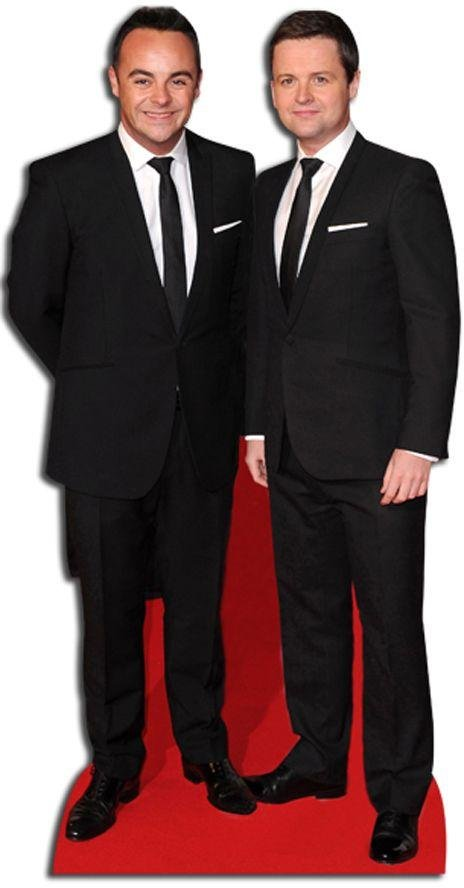 Image of Celebrity Standee Ant and Dec Life-Sized Cutout.