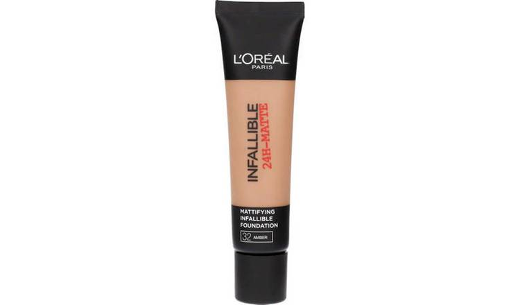 L'Oreal Paris Infallible 24HR Matte Foundation Amber - 35ml