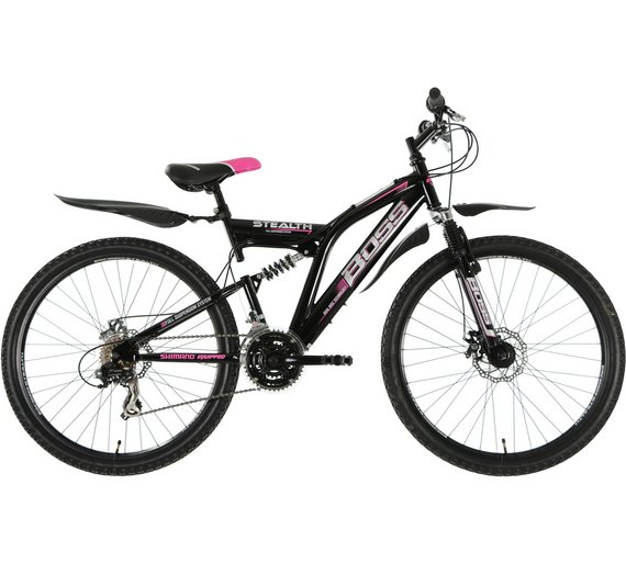 Buy Boss Stealth Dual Suspension Mountain Bike - Womens | Men\'s and ...