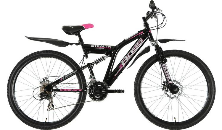 Boss Stealth 26 inch Wheel Size Womens Mountain Bike
