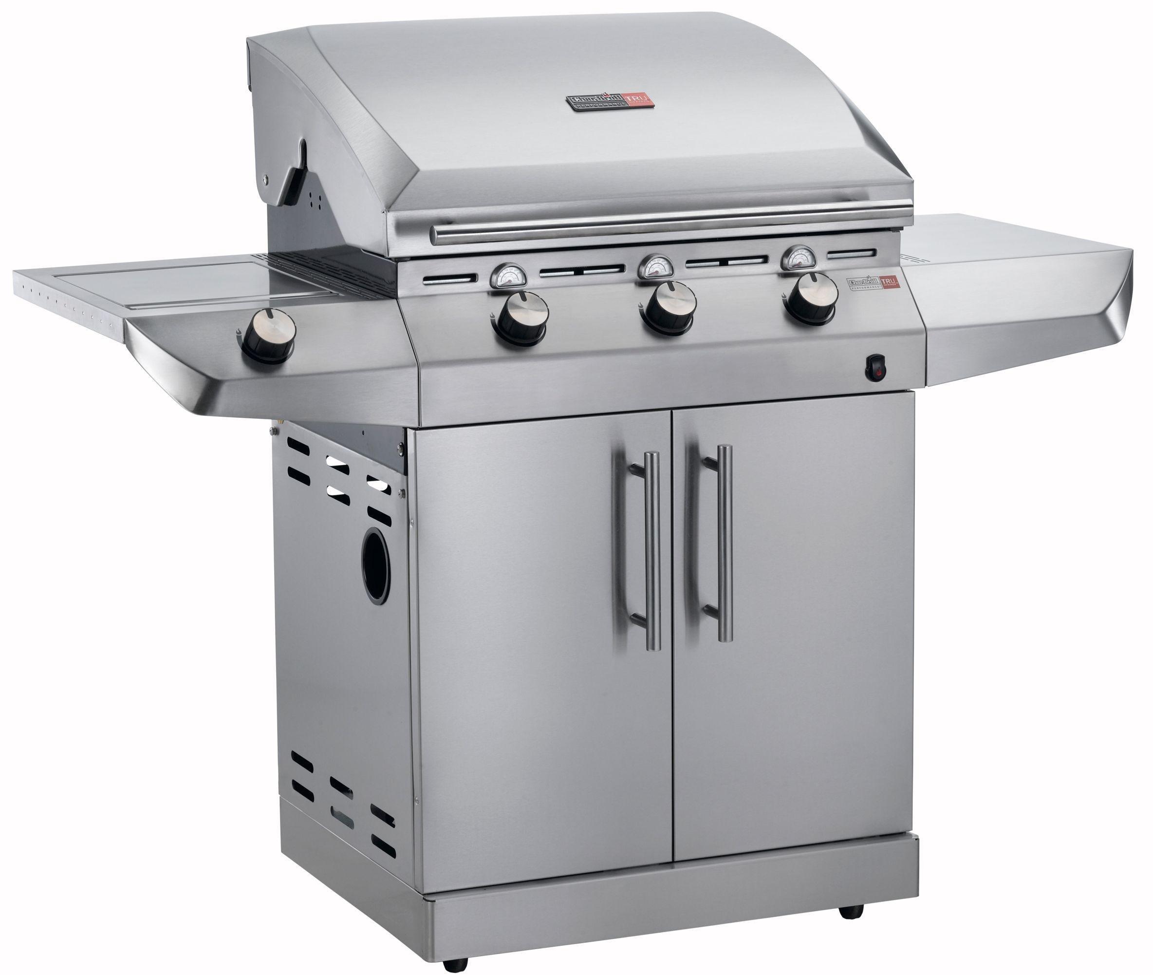 Char-Broil T36G5 - 3 Burner Gas BBQ with Side-Burner