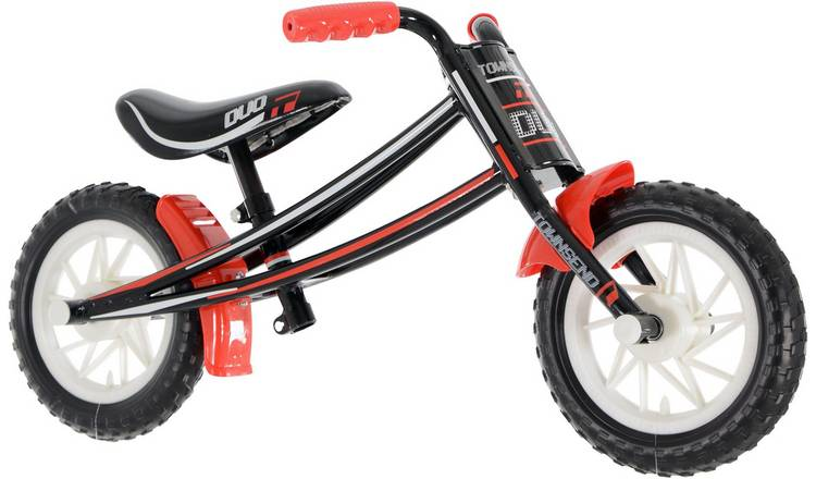Townsend Duo Red 10 inch Wheel Size Kids Balance Bike