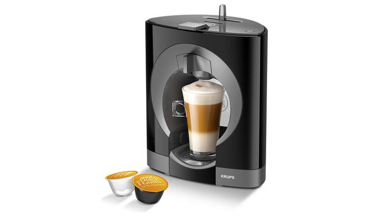 Buy Nescafe Dolce Gusto By Krups Oblo Pod Coffee Machine Black Coffee Machines Argos