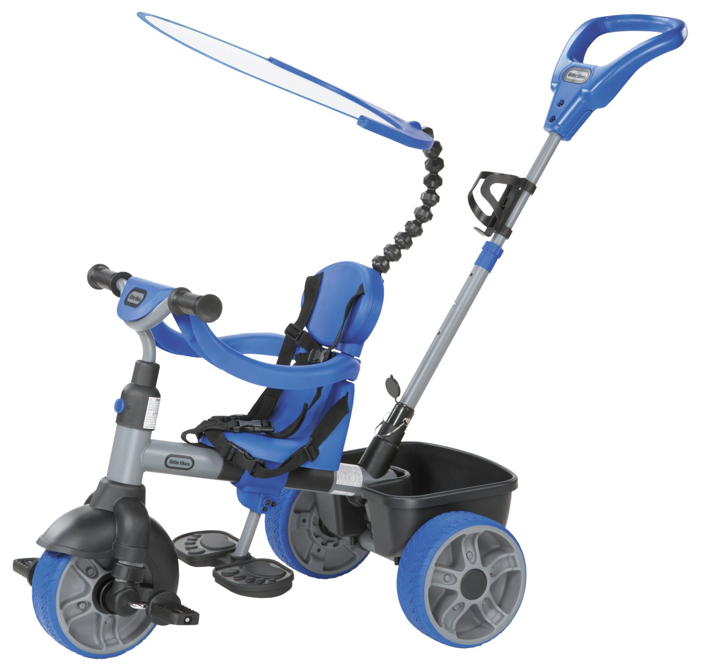 Image of Little Tikes - 4-in-1 Trike - Blue