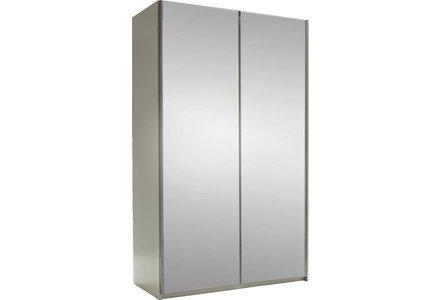 Hygena Bergen 2 Door Medium Mirrored Sliding Wardrobe
