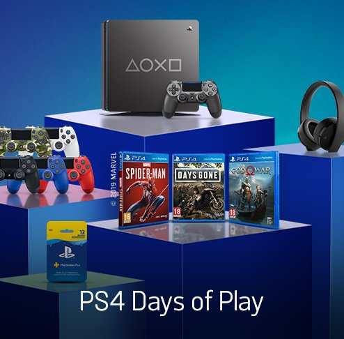 PS4 Days of Play.