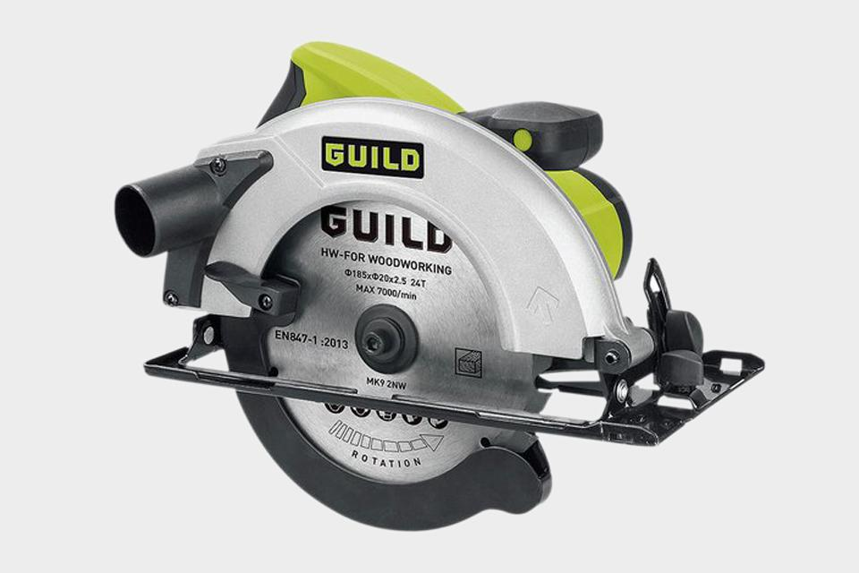 Guild 185mm Circular Saw - 1400W.