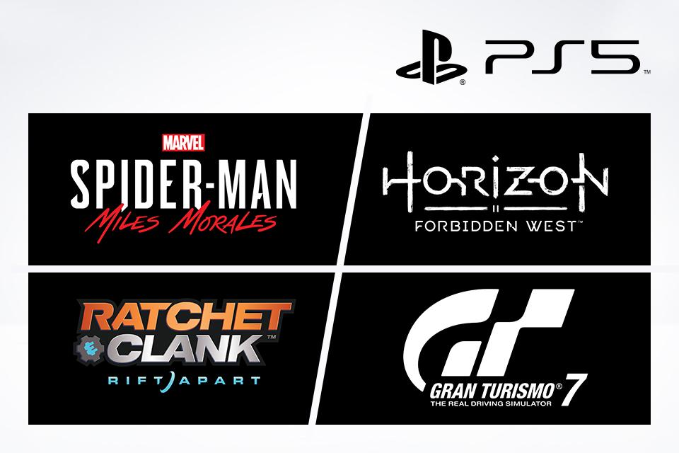 New titles coming to the PlayStation 5.