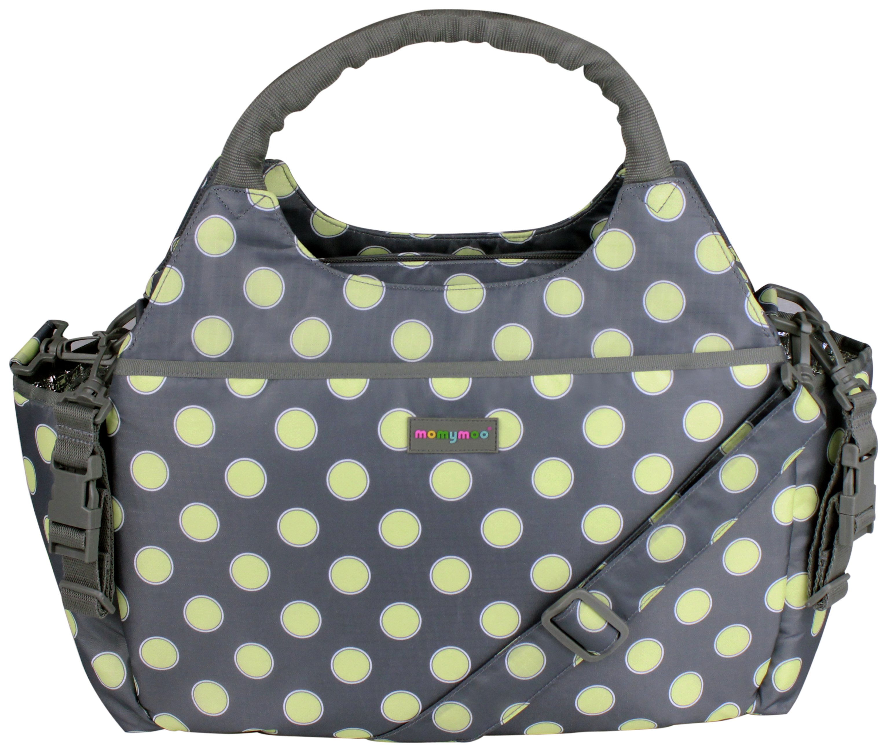 Momymoo Mono Changing Bag - Polka Dots