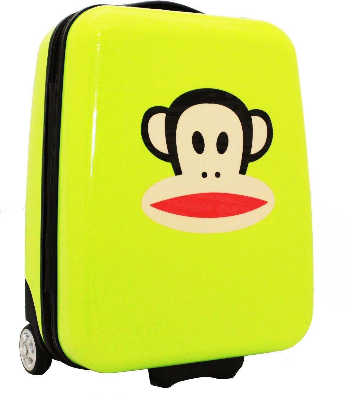 Paul Frank - Julius Monkey Cabin Suitcase - Lime lowest price
