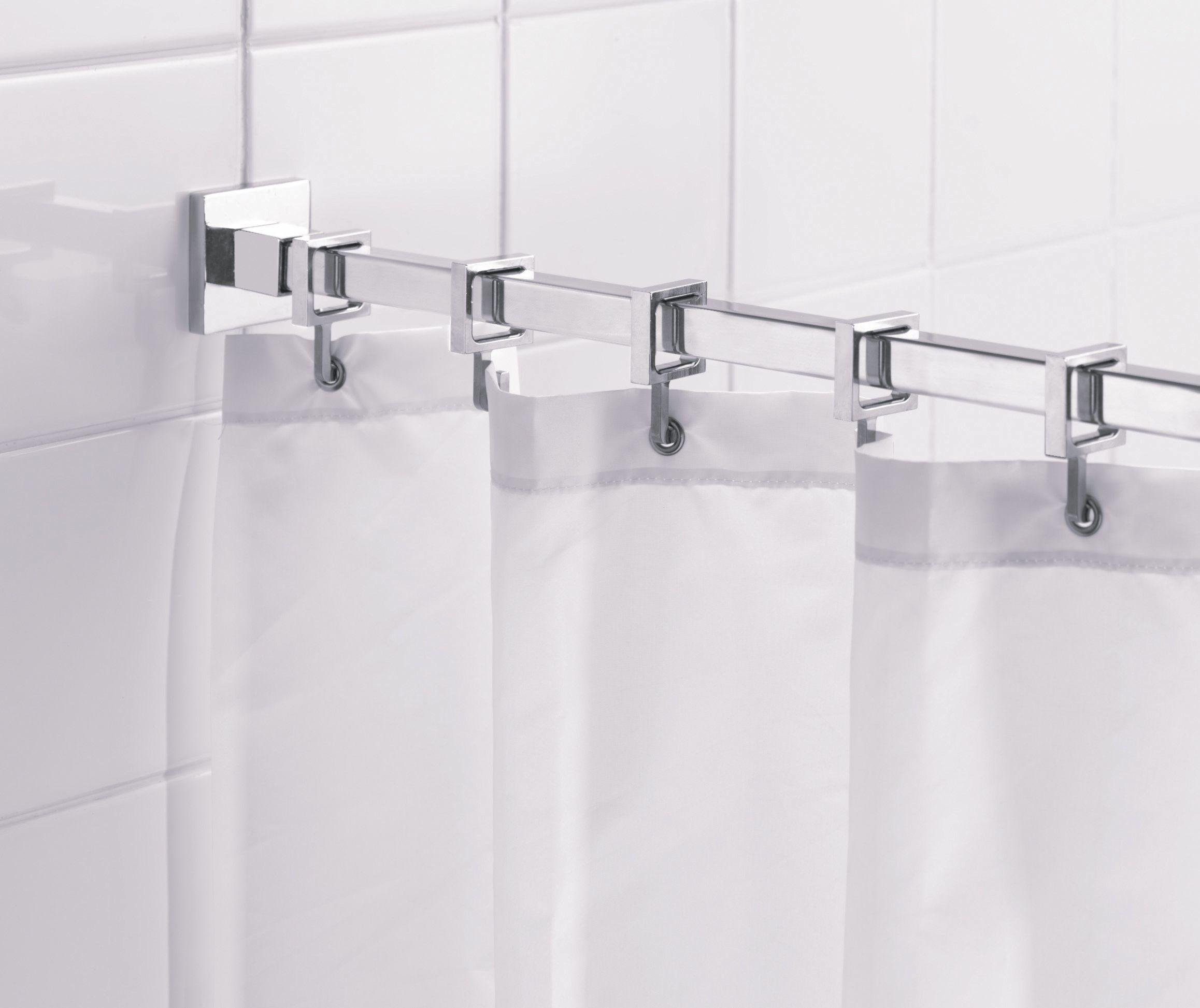 croydex-square-shower-curtain-rod-rings-chrome
