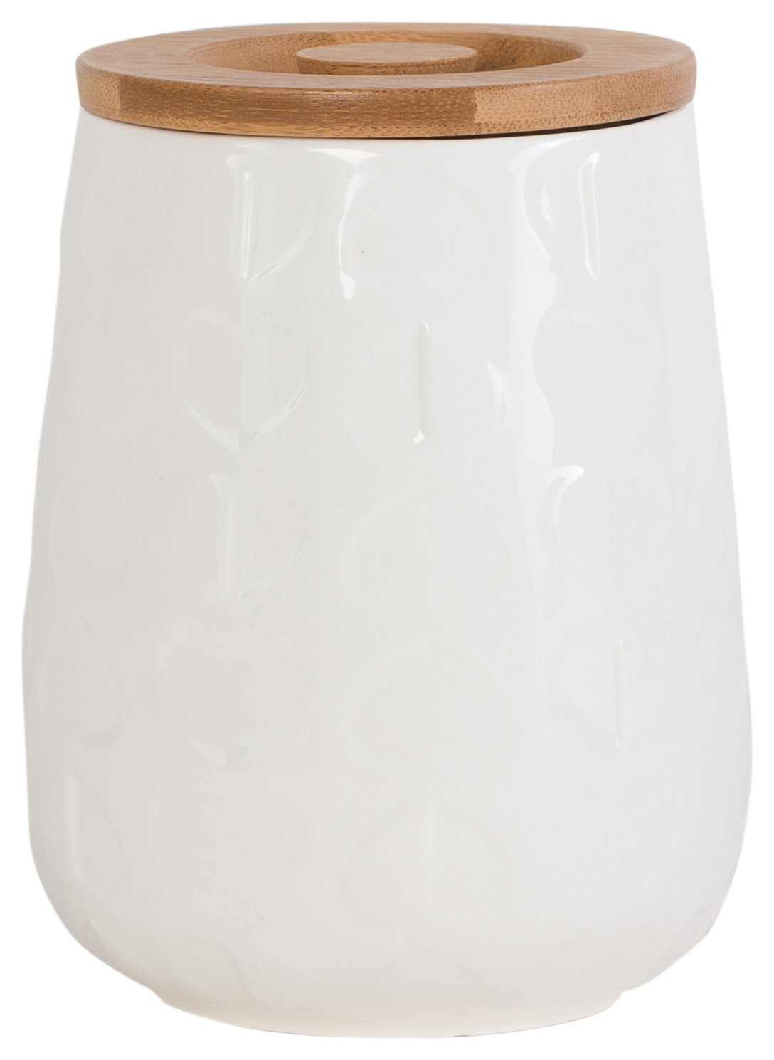 Image of Beau and Elliot Confetti - White Storage Jar