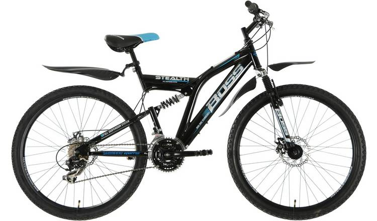 Boss Stealth 26 inch Wheel Size Mens Mountain Bike