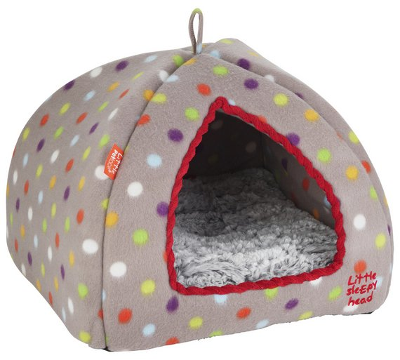 buy petface kitten igloo cat bed at your. Black Bedroom Furniture Sets. Home Design Ideas