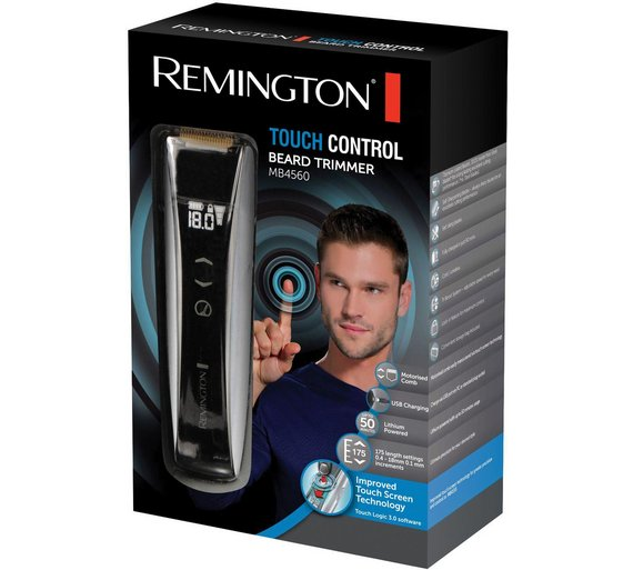 buy remington mb4560 touch control lithium beard trimmer. Black Bedroom Furniture Sets. Home Design Ideas