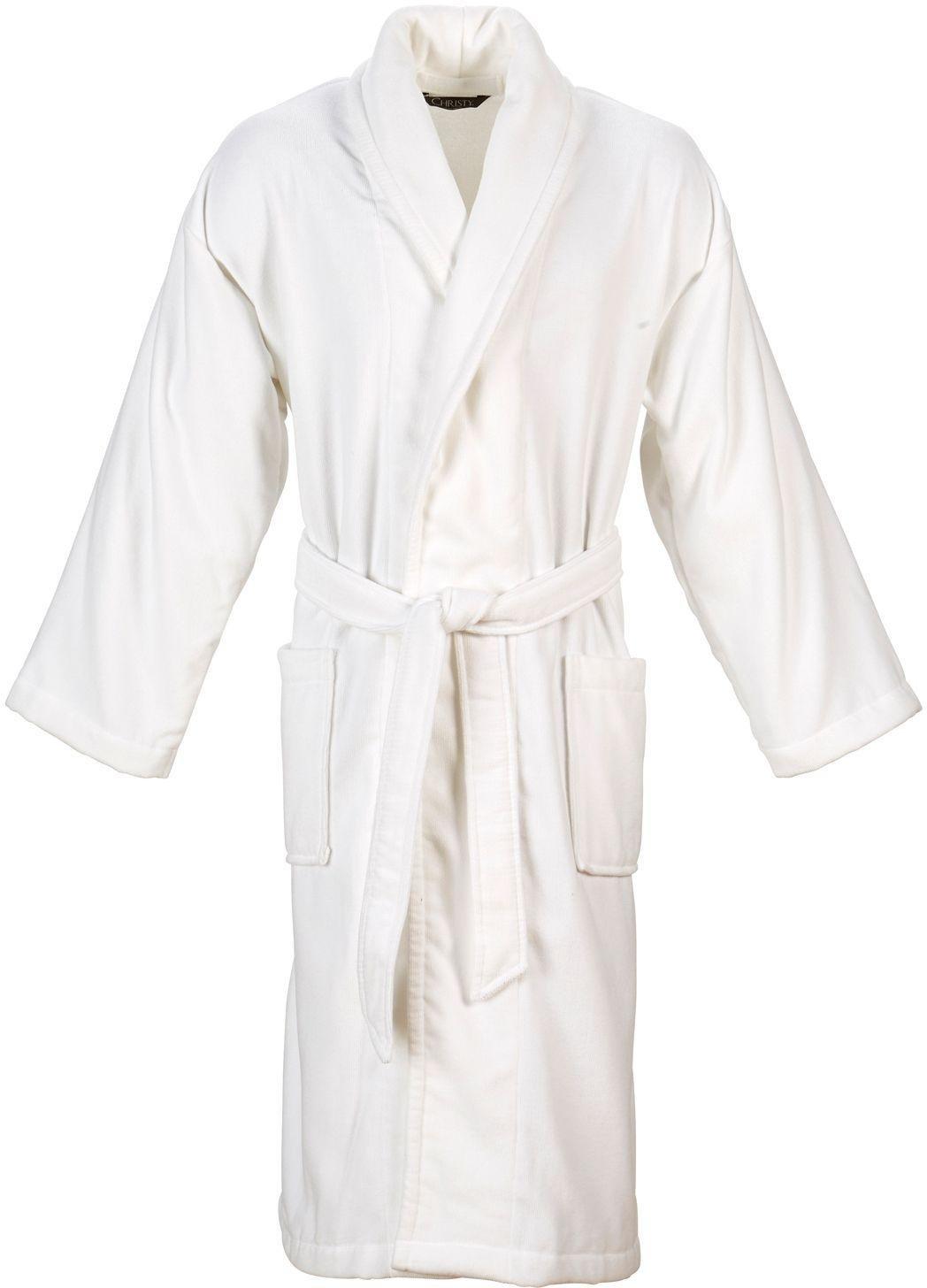White apron argos - Christy Supreme White Bath Robe Large