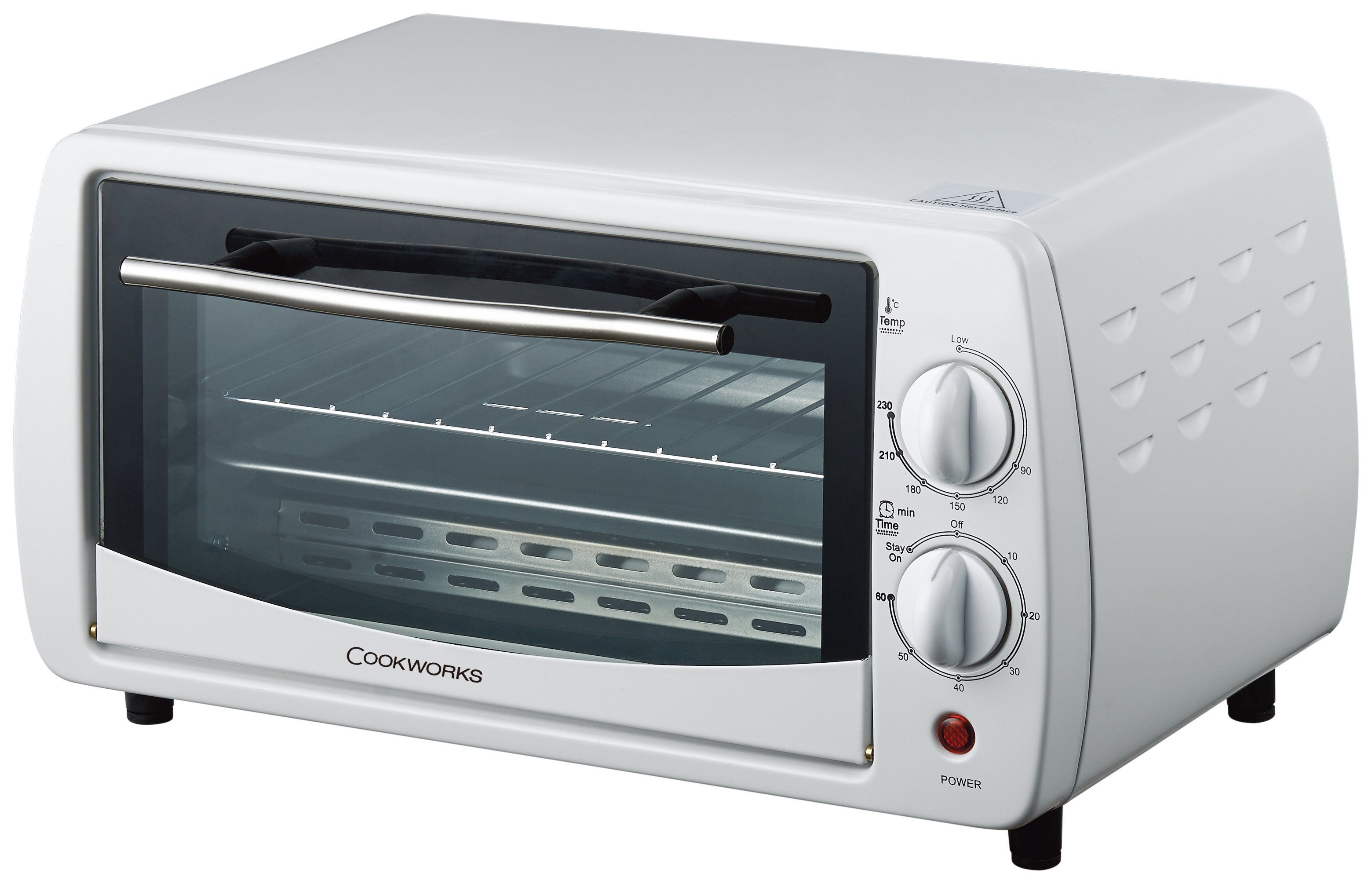 Countertop Oven With Hob : cookworks toaster oven white this cookworks toaster oven has some ...