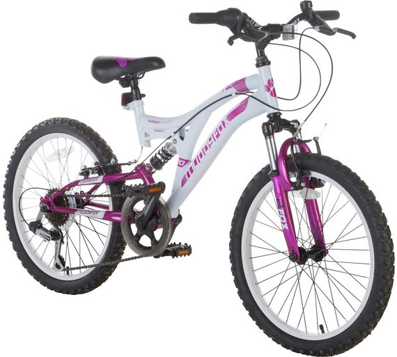 Buy Muddyfox Radar 20 Inch Dual Suspension Mountain Bike | Kids ...