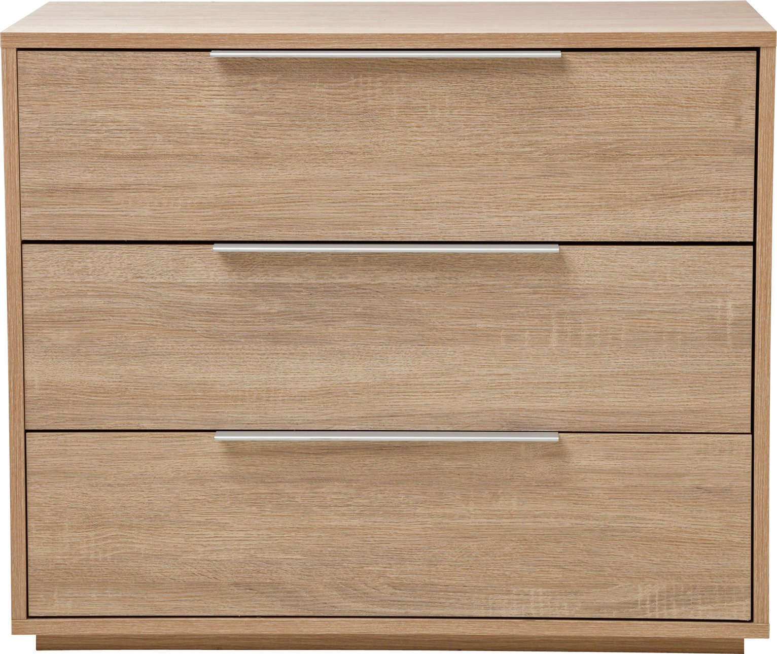 Argos Home Bergen 3 Drawer Chest Oak Effect