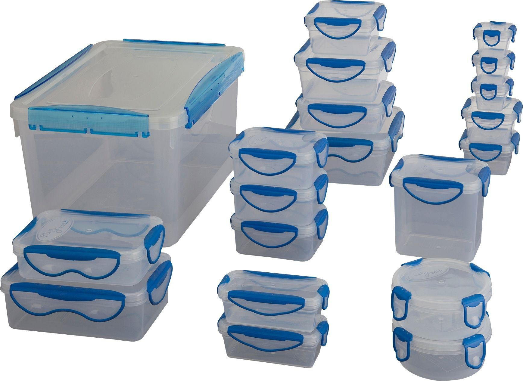 Image of HOME - 20-in-1 Clip Fresh Storage Set