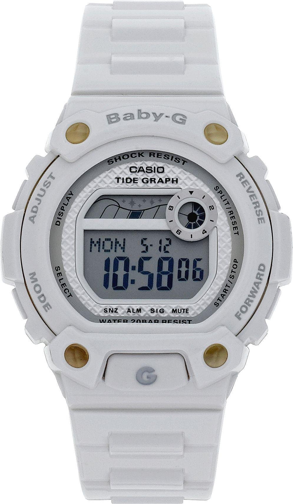 Image of Baby-G by Casio - Ladies White World Time Strap - Watch