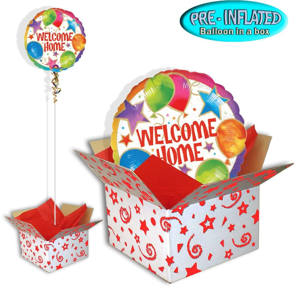 Welcome Home Celebration - Balloon in a Box