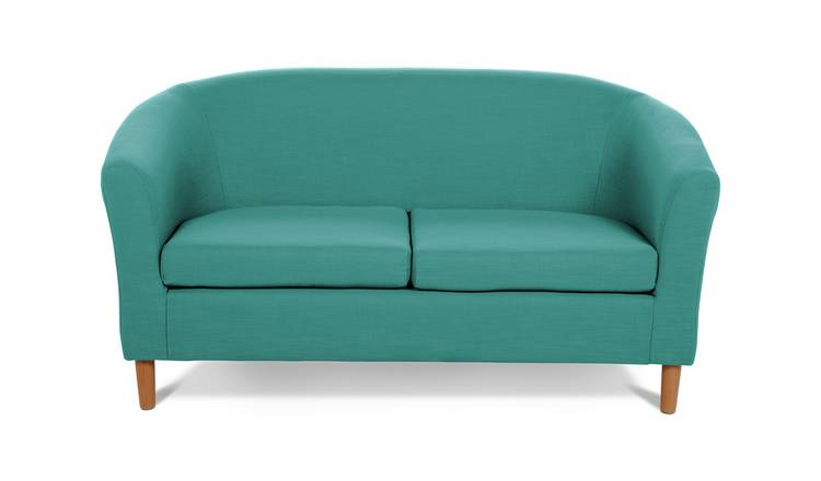 Habitat 2 Seater Fabric Tub Sofa - Teal