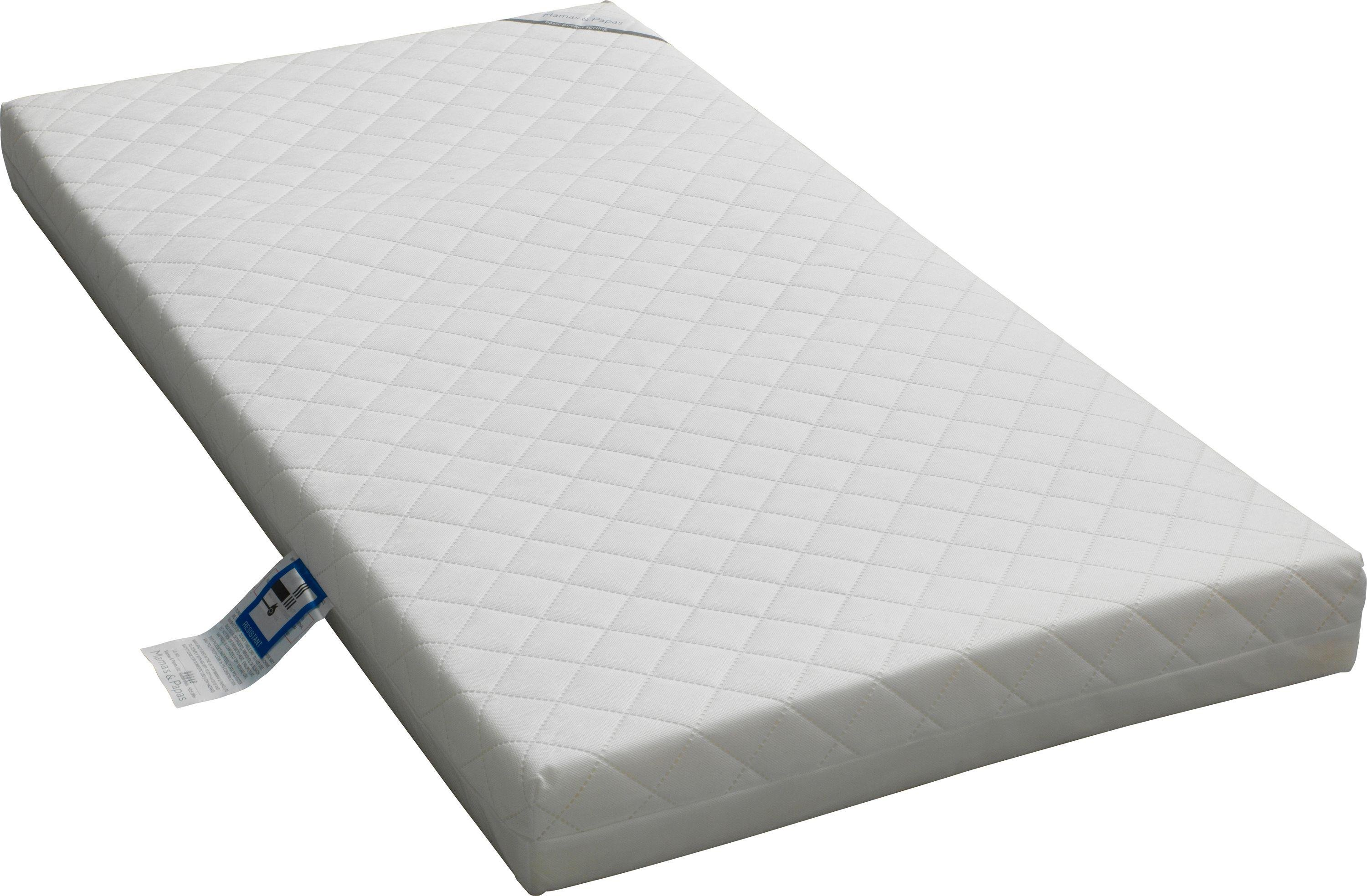 Rocking crib for sale doncaster - Mamas Papas Pocket Sprung Mattress 139x69cm