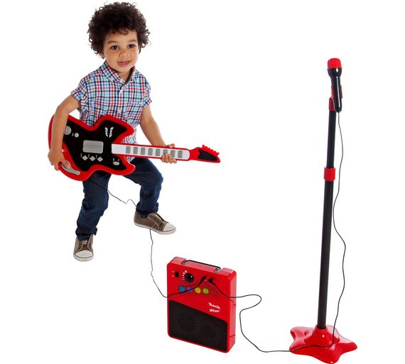 buy chad valley guitar mic and amp at your online shop for musical toys creative. Black Bedroom Furniture Sets. Home Design Ideas