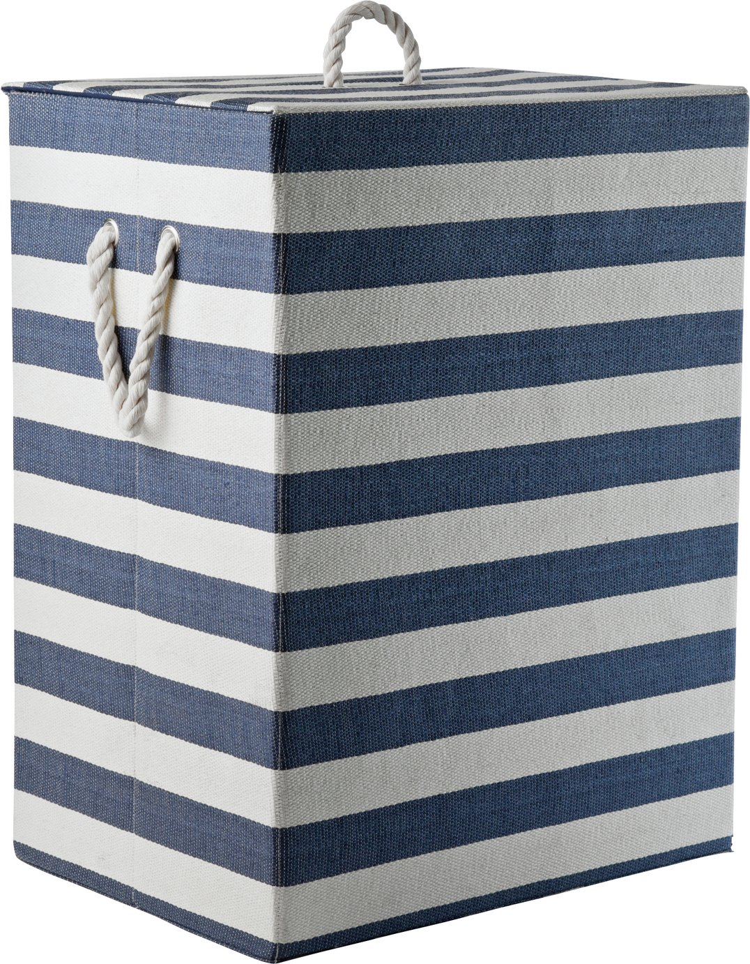 home-laundry-box-blue-white