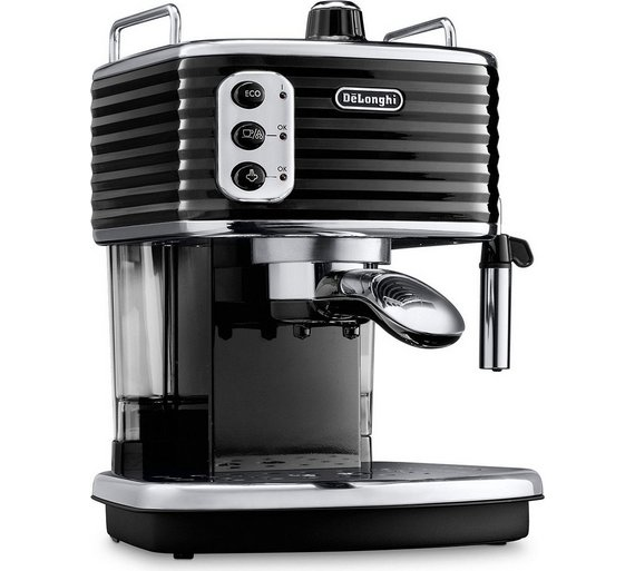 Buy De Longhi Ecz351blk Scultura Espresso Machine Black