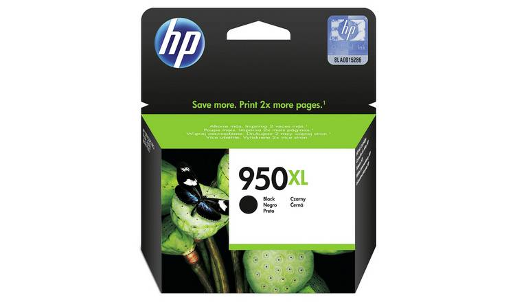 HP 950 XL High Yield Original Ink Cartridge - Black