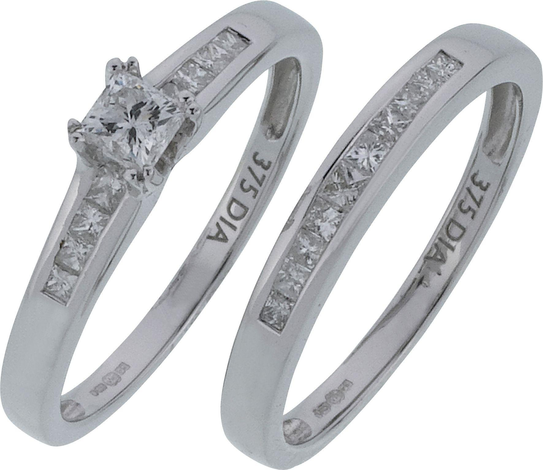 to-have-to-hold-9-carat-gold-025-carat-tw-diamond-bridal-ring-set