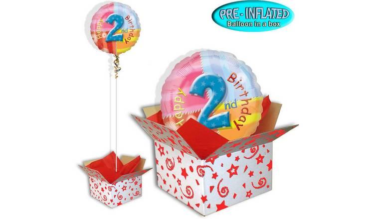 Happy 2nd Birthday Balloon In A Box246 8499