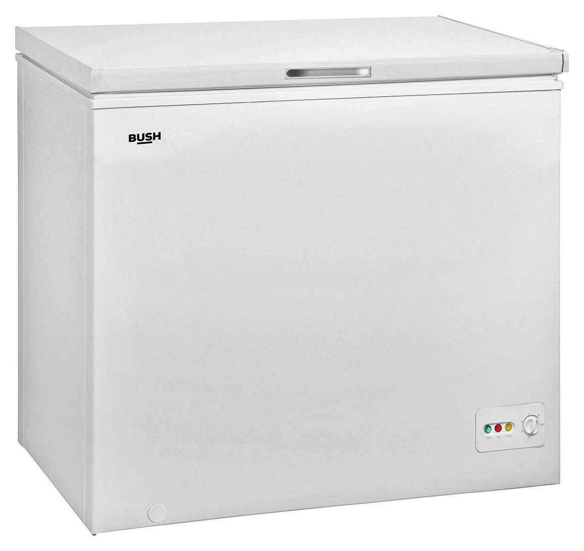 Bush BCF198L Chest Freezer - White Best Price, Cheapest Prices