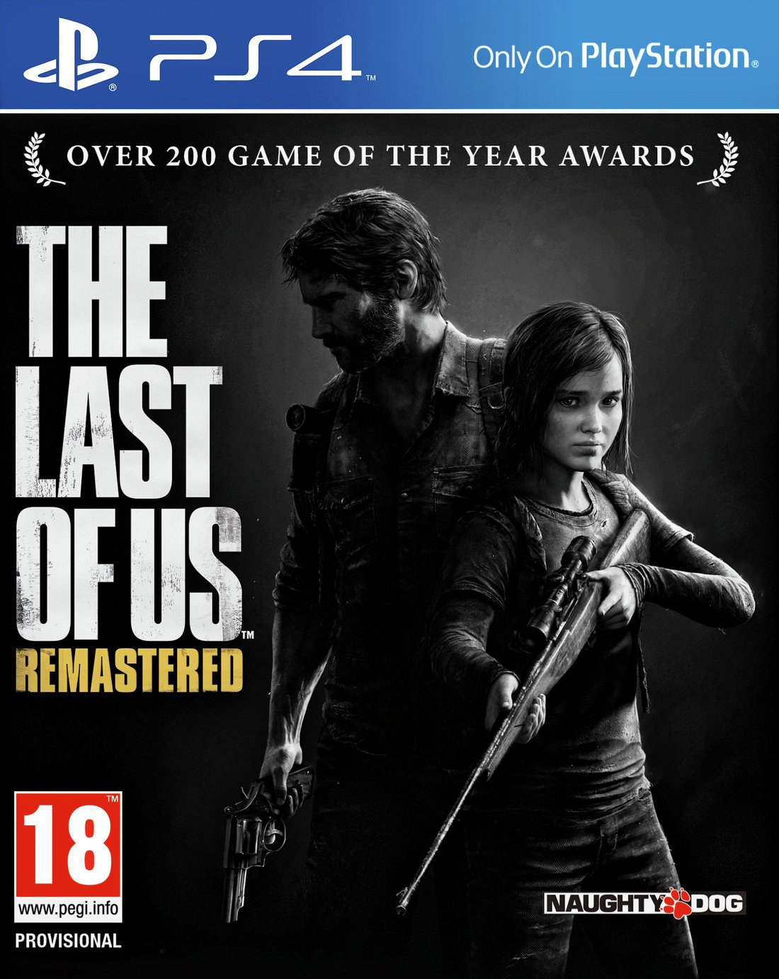 Ps4 pro enhanced The Last of Us Remastered PS4 Game.