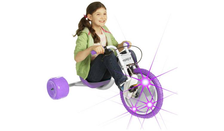Elektra Flashing Hog Ride On - Lilac