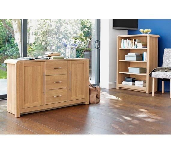 Buy Heart Of House Elford 2 Door 3 Dwr Sideboard Oak
