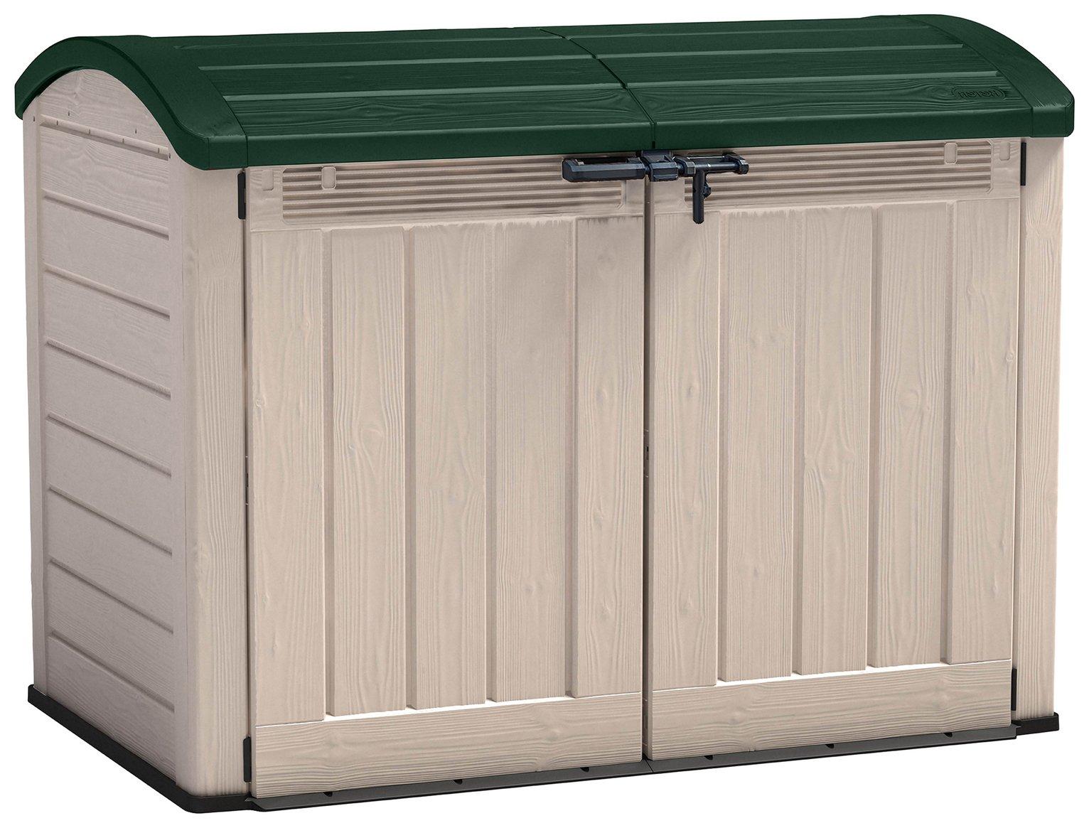 keter store it out ultra garden storage box. Black Bedroom Furniture Sets. Home Design Ideas
