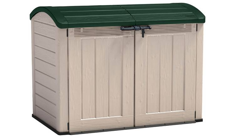 Keter Store It Out Ultra Bike Shed 2000L - Beige/Green