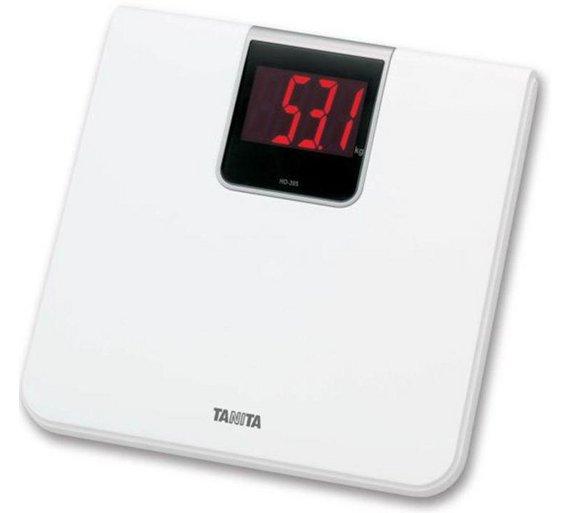 Buy Tanita HD Extra Large LED Display Digital Bathroom Scale - Large display digital bathroom scales